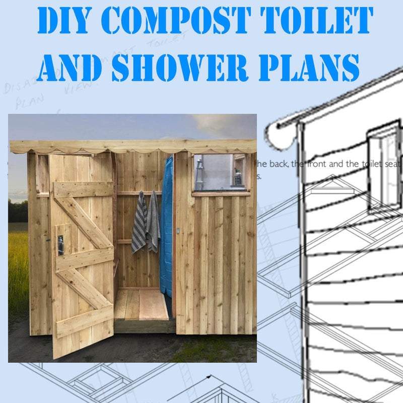 DIY Compost Toilet and Shower Plans