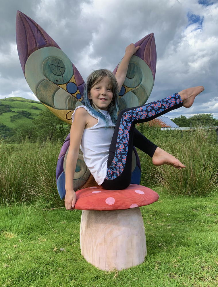 fairy toadstool chair