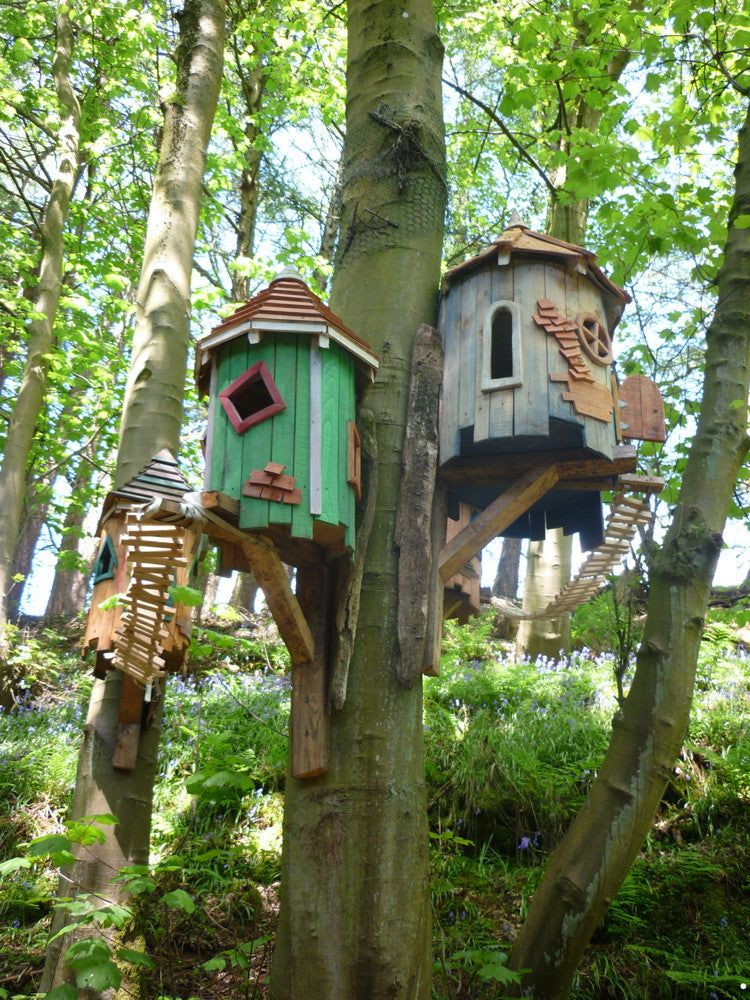 fairy wooden tree houses