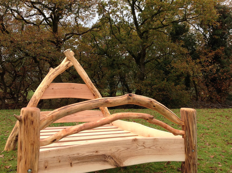 oak wooden bed 02