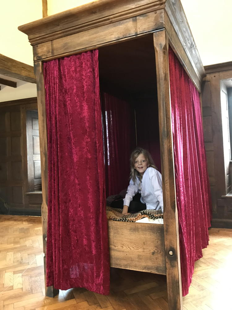 harry potter four poster bed