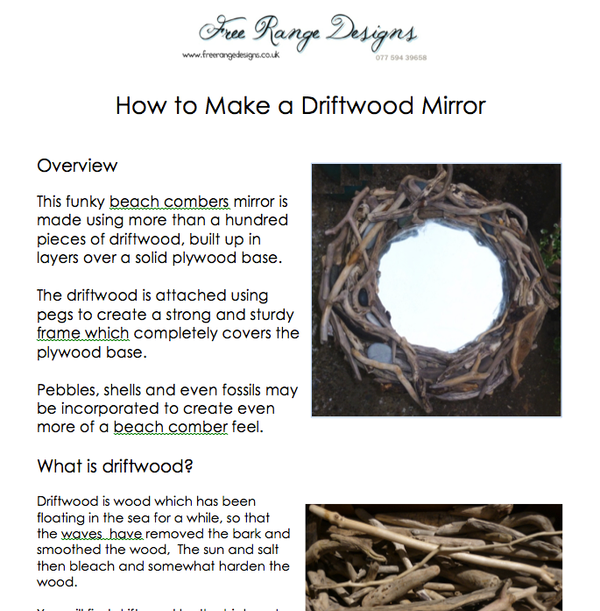 how to make a driftwood mirror 02