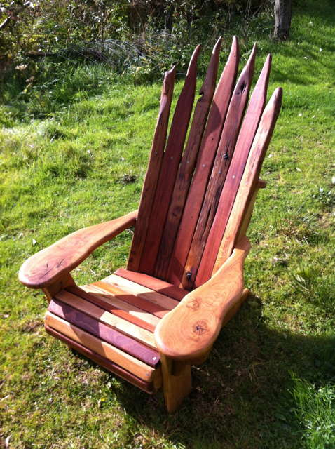 designer adirondack chair
