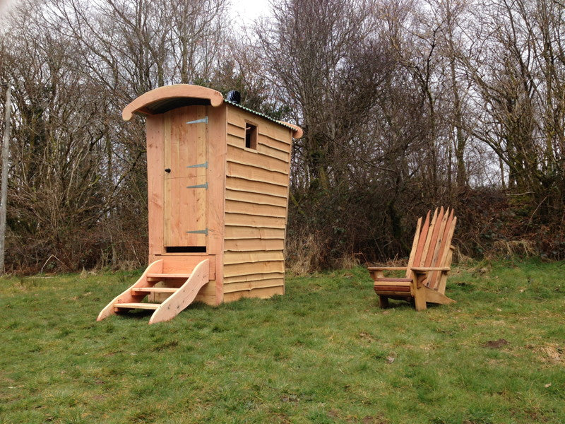 gypsy compost toilet with chair