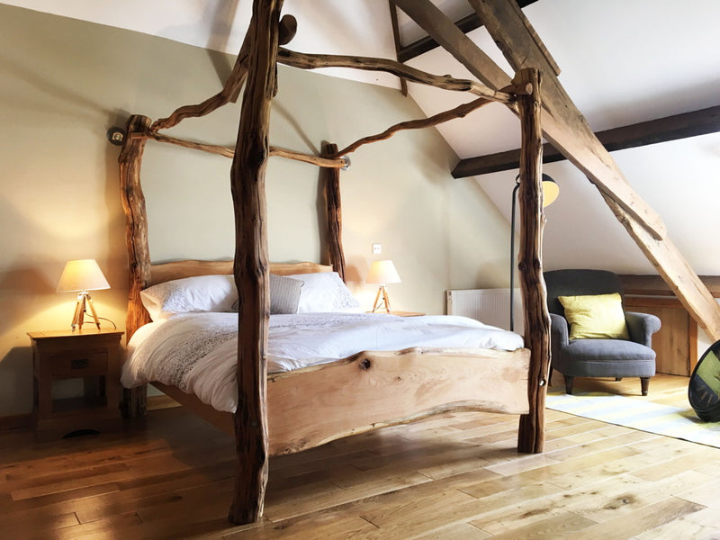 four-poster-oak-bed
