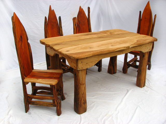 Dining Room Table with Chair