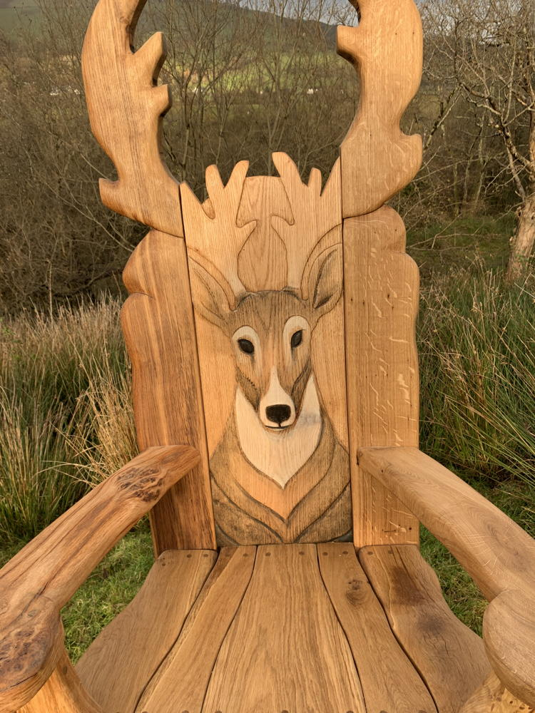 woodland reading chair
