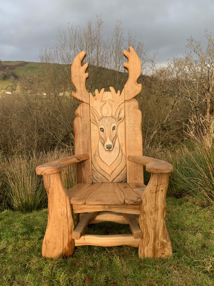 forest reading chair
