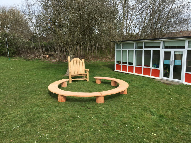 school playground seating