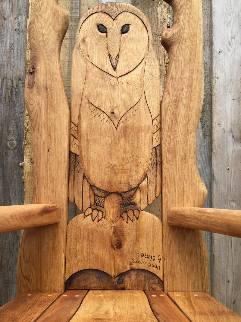Owl Reading Chair