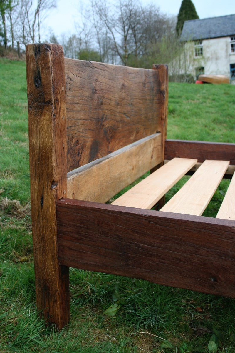 Reclaimed Oak Bed