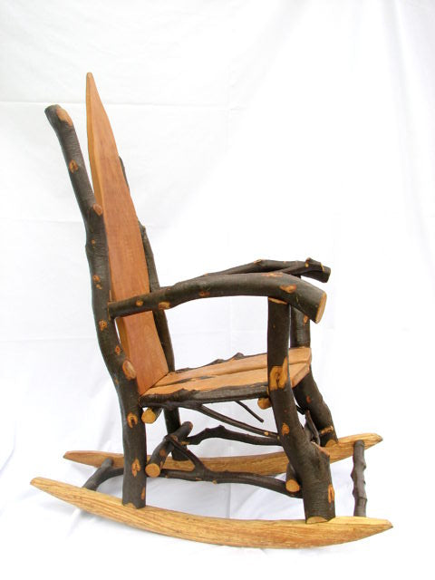 beech patio rocking chair