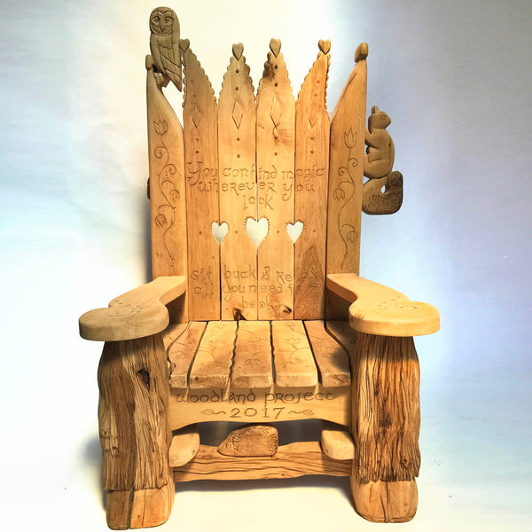 school woodland chair