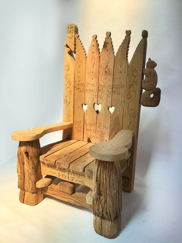 woodland storytelling chair