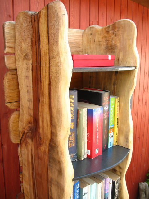 wooden book shelf