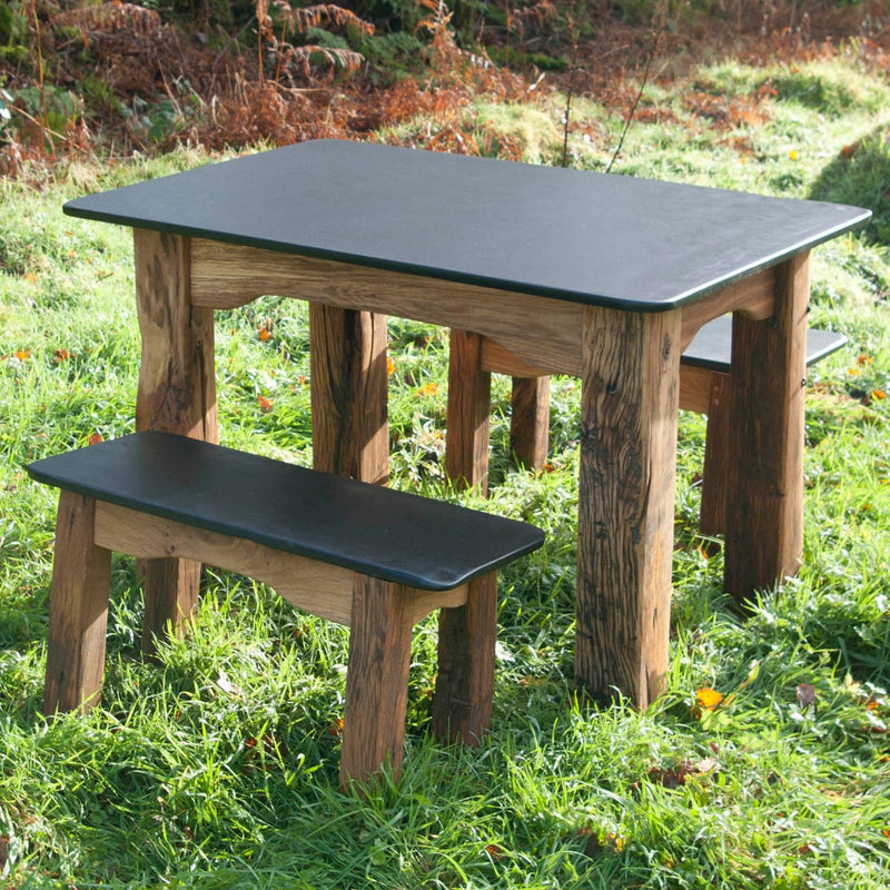 slate garden furniture