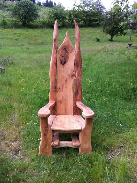 story chair front