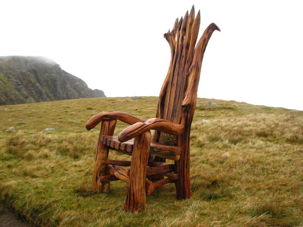 storytelling chair on Cadair Idris