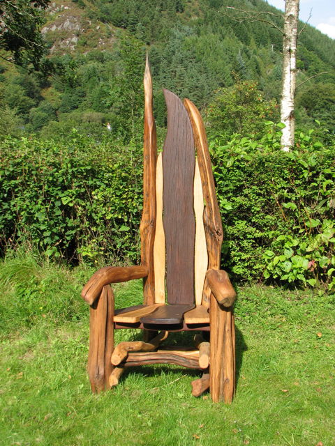 outdoor storytellers chair