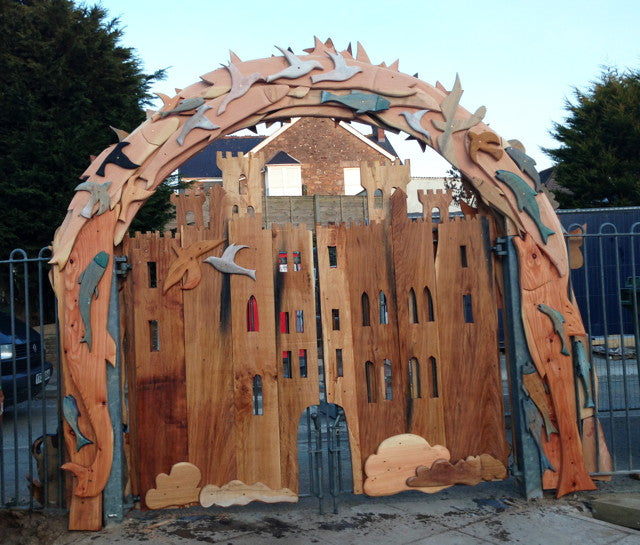 play garden arch for school
