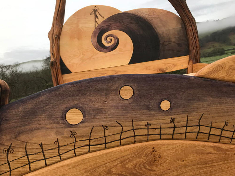 Nightmare Before Christmas Bed