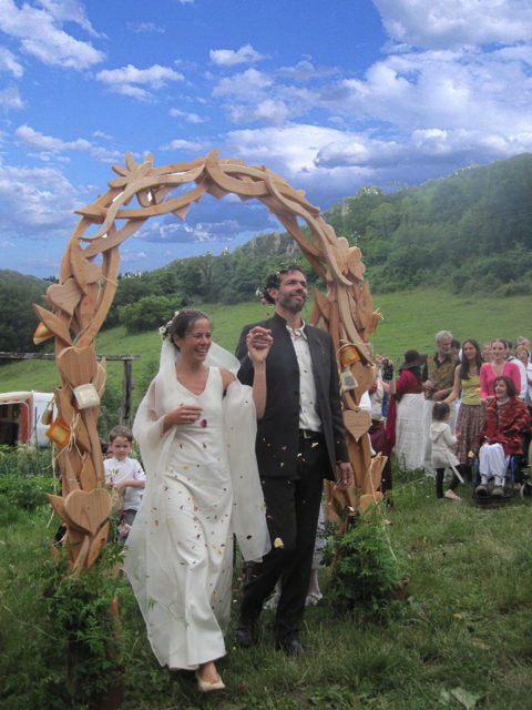bridal wedding arch