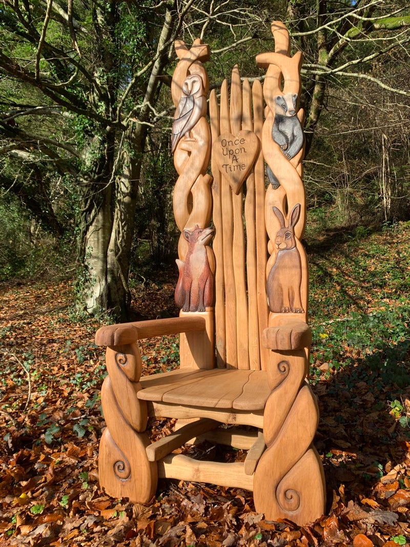 oak woodland oak throne