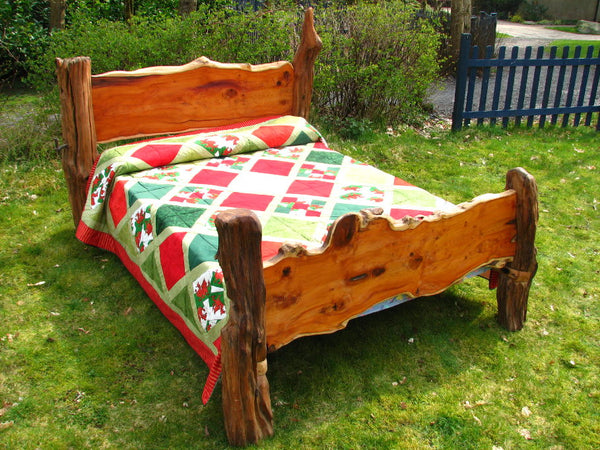 handmade-rustic-yew-bed