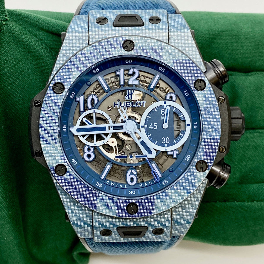 Hublot Big Bang UNICO Italia Independent Blue Camo Limited Edition 411.YL.5190.NR.ITI16