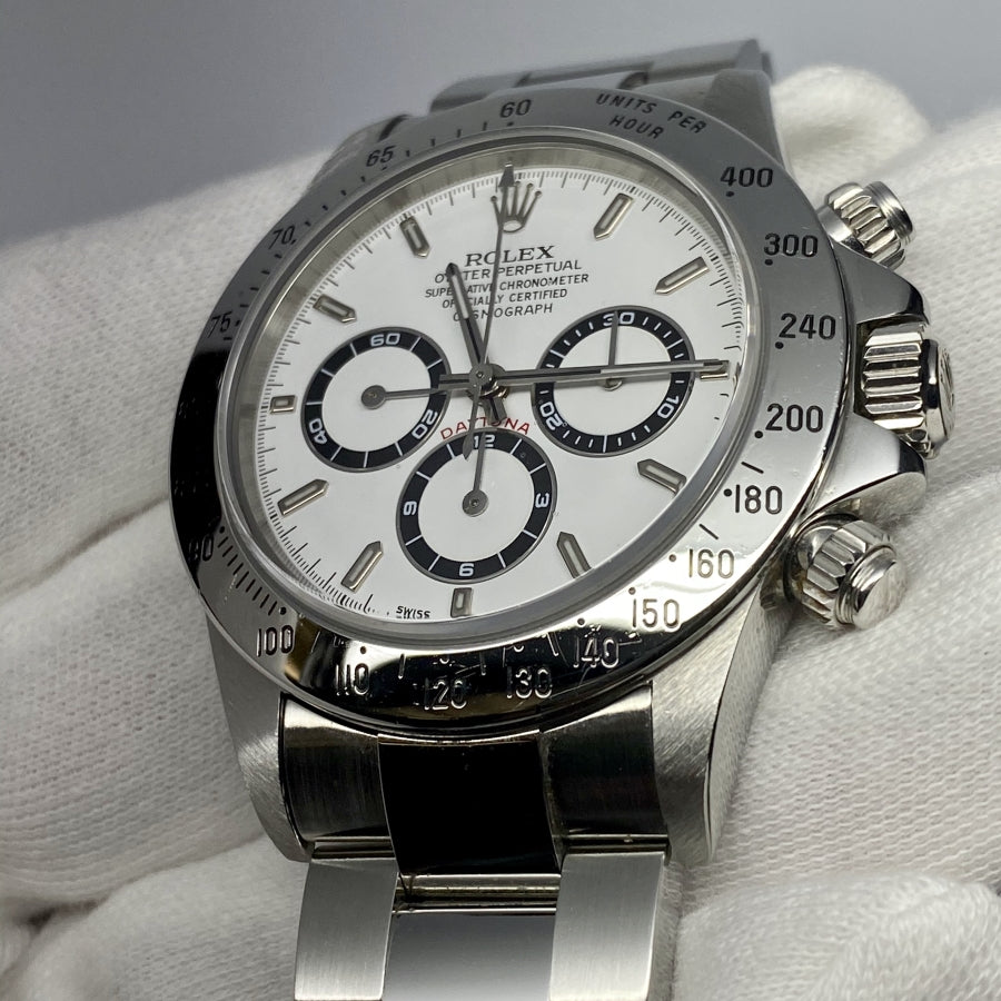 "Rolex ""Zenith"" Daytona Ref 16520 (A Series) - The Watch Lounge"