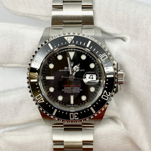 Rolex Sea-Dweller 126600 Single Red - The Watch Lounge Shop