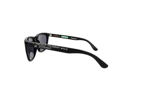 Raymond Pettibon L.A. Rays Sunglasses by Freeway Eyewear and ForYourArt