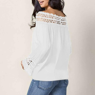 Fashion Lace Bowknot T-Shirts
