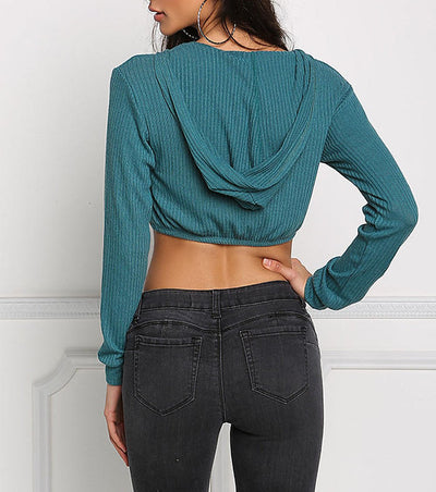 Pure Long sleeve Knit Top