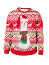 Plus Size Loose Woman Ugly Christmas Sweatshirts