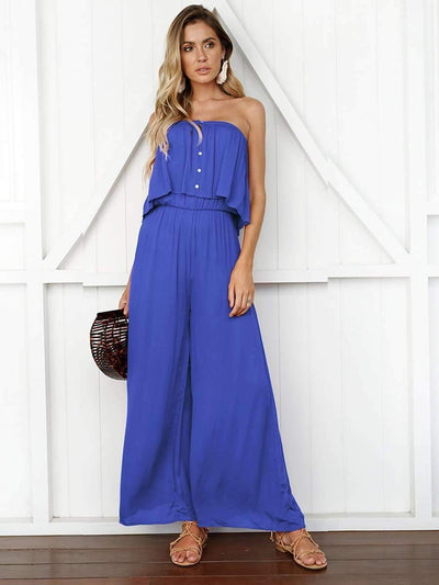 Casual Loose Off shoulder Jumpsuits
