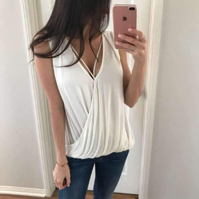 Sexy Sleeveless Vest T-Shirts