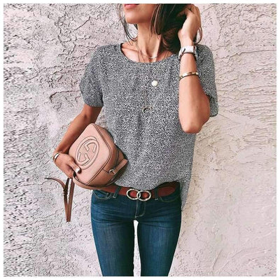 Fashion Round neck Short sleeve T-Shirts