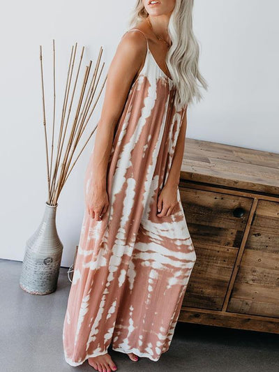 Chic Women Street style Printed Strapless Jumpsuits