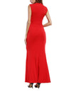 Summer new sleeveless slim women bodycon dress