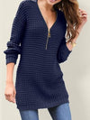Woman V Neck Sexy Daily Mini Dress Sweater