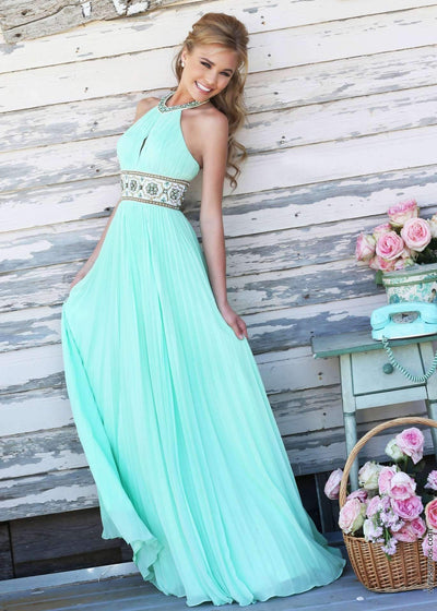 Pure Halt Off shoulder Evening Dresses