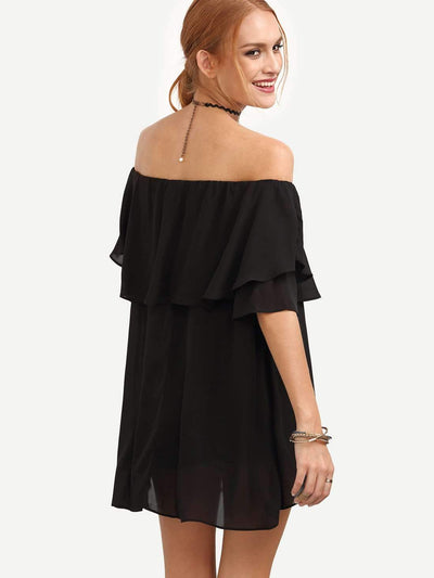 Off shoulder Loose T-Shirts