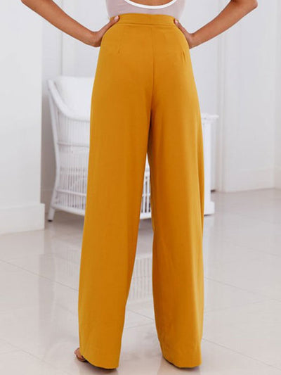 Sexy Simple Casual Tall Waist Woman Long Pants