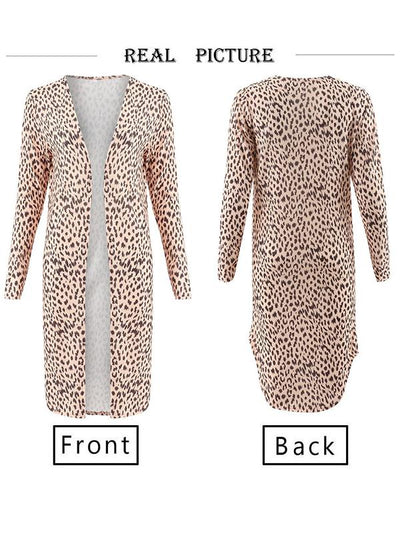 Two Colors Sexy Slim Daily Woman Cardigans Coats