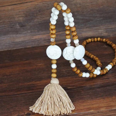 Vintage Bohemia Style Long Necklace