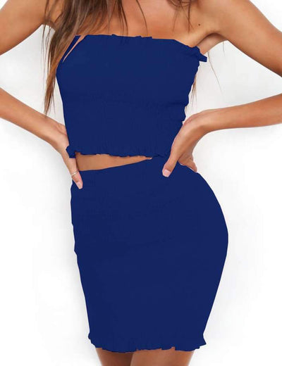 Sexy Vest Suits Bodycon Dresses