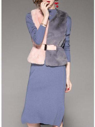 New Fashion Dress Vest Women Suit
