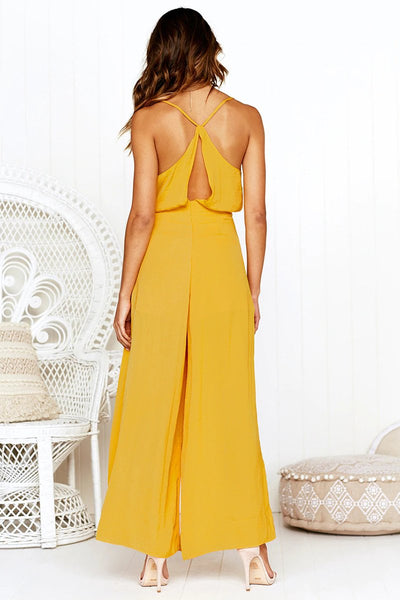 Sexy Vest  Backless Jumpsuits