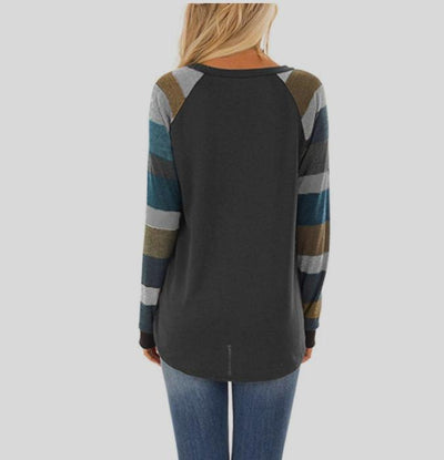 Long sleeve T-shirt with Round Neck